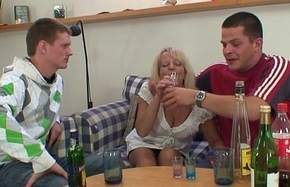 Drinking leads with regard just about threesome orgy